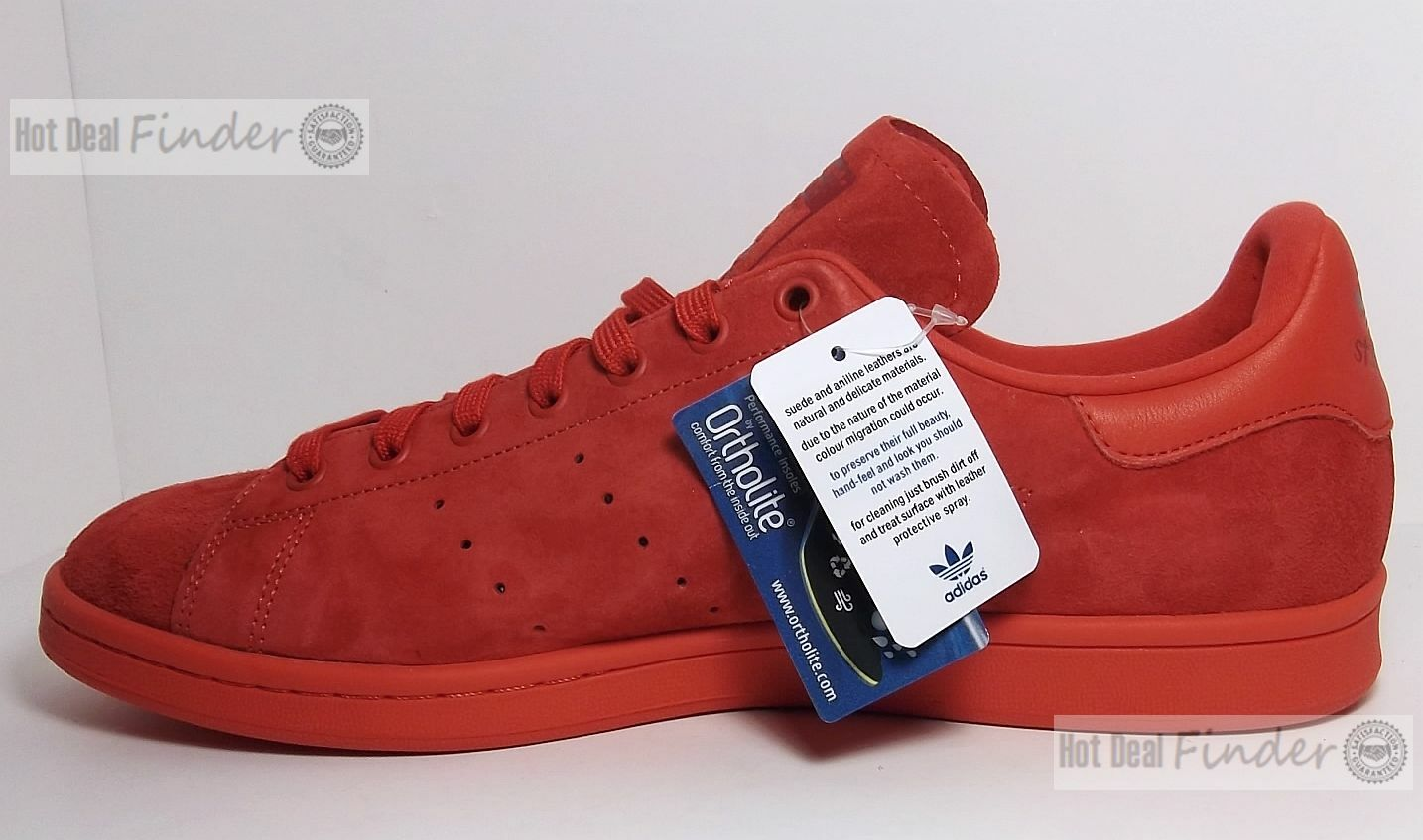 NEW ADIDAS ORIGINALS STAN SMITH = SIZE 13 = MEN'S SUEDE SHOES SNEAKERS S75109