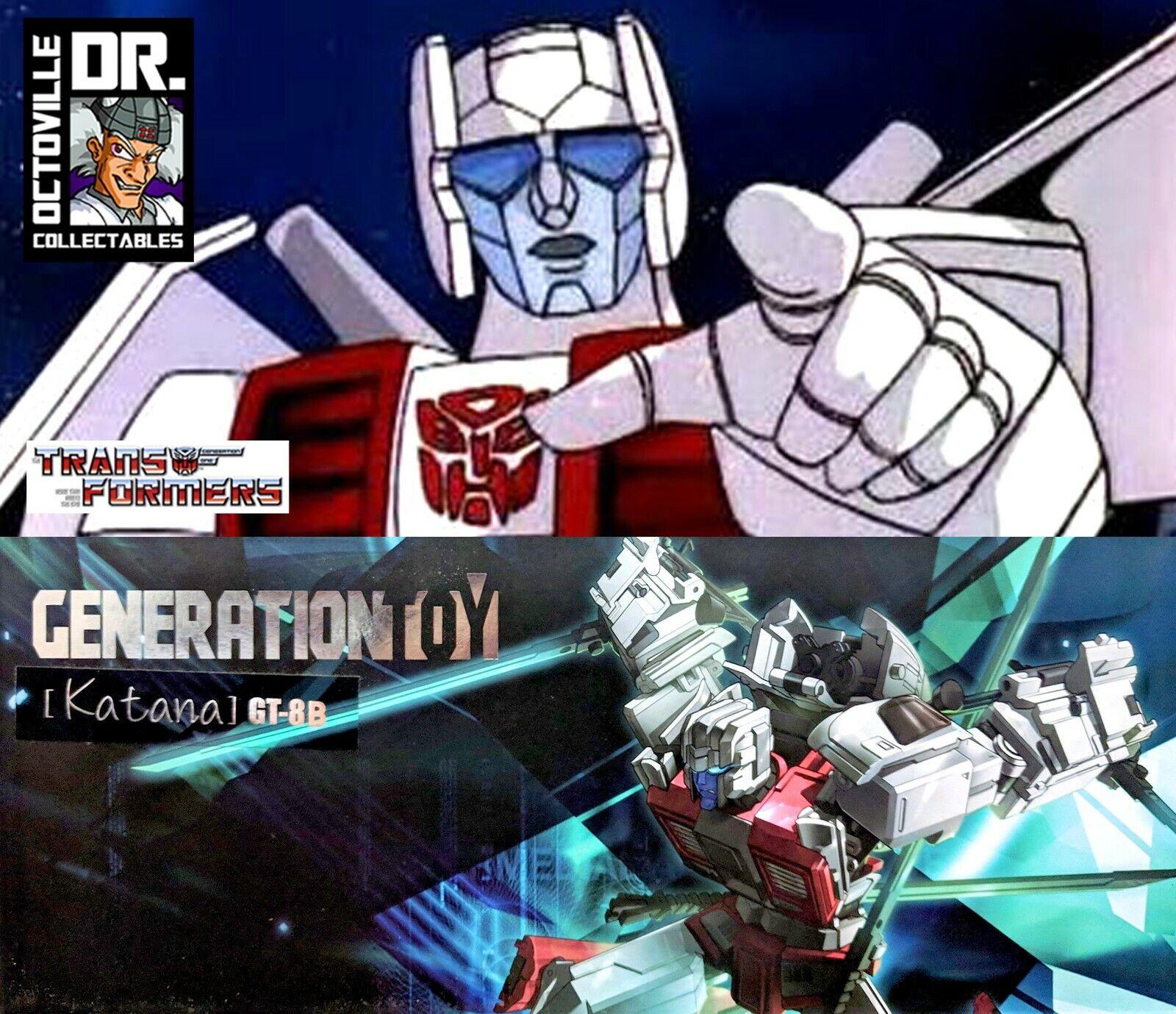 Transformers Masterpiece generazione giocattolo GT08B KATANA lameMP usato