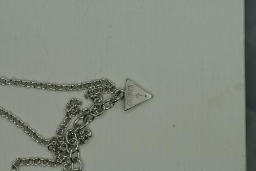 GUESS Damen Halskette WRAPPED WITH LOVE UBN21608 Herz rhodiniertes Messing NEU