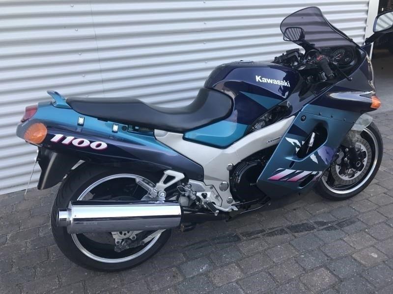 Kawasaki, ZZR 1100, 1100