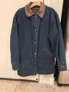 Blanket Jean Medium Woolrich Denim Kvinders Vintage Jakke Størrelse xwt6na
