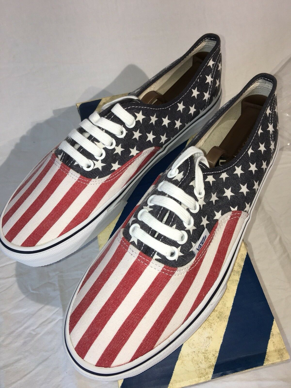 Vans (Van Doren) American Stars & Stripes 8.5 Fits 9 US NEW