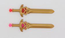 Playmobil 2 x Schwert Schwerter Magic  gold