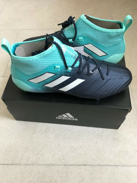 adidas Ace 17.1 Primeknit FG blau WEISS 42 23