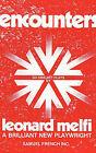 Encounters by Leonard Melfi (Paperback / softback, 2010)