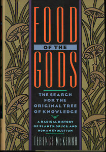 FOOD-OF-THE-GODS-by-Terence-McKenna-First-Ed-2nd-Printing-New-Hardcover