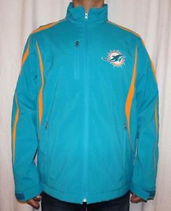 low priced 8d6d4 9a4c6 NWT Miami Dolphins NFL Men's 3 Layer Soft Shell Bonded ...