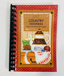 Country Goodness Community Cookbook Spiral Bound Morristown Ohio OH Recipes