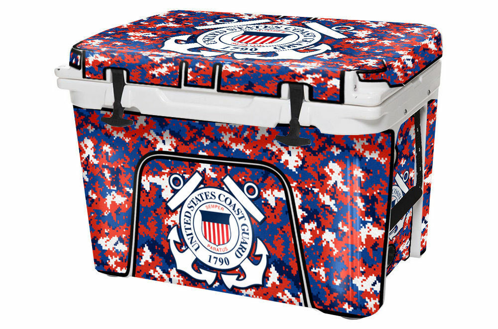 USATuff Custom Cooler Wrap fits fits Wrap YETI Tundra 50qt FULL Coast Guard Digicamo b4fec5
