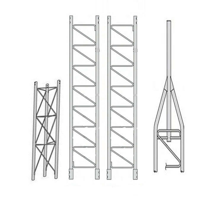 New ROHN 45SS030    45G Series 30' Self Supporting Tower Kit .