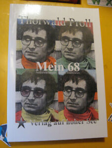 "Thorwald Proll Autogramm Buch ""Mein 68"" signiert hand-signed autograph"