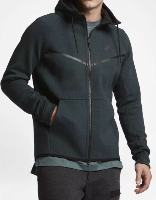 Nike Air Tech Fleece Windrunner Carbon Heather Black Hoodie Men's Size S 3XL New   eBay