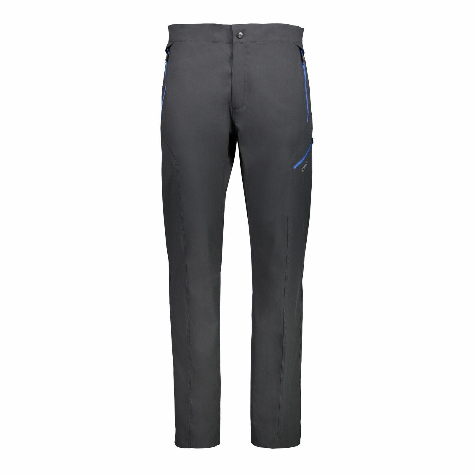 CMP Funktionshose Wanderhosen Man Long Pant grau wasserabweisend atmungsaktiv