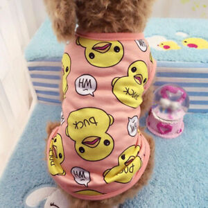Duck-Puppy-Clothing-Dog-Cotton-Clothes-Chihuahua-Yorkie-for-Dog-Jumpsuit