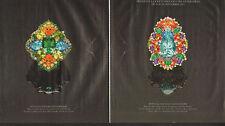 """Publicité 1992 (double page) DIOR """"DEAR"""" joaillier collection collier bague"""