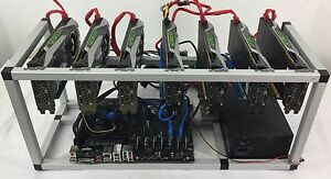 Details about Crypto Coin Mining Rig 7x GTX1070 8GB ETH Ethereum 212 MH/s  Zcash 3000 Sol/s ZEC