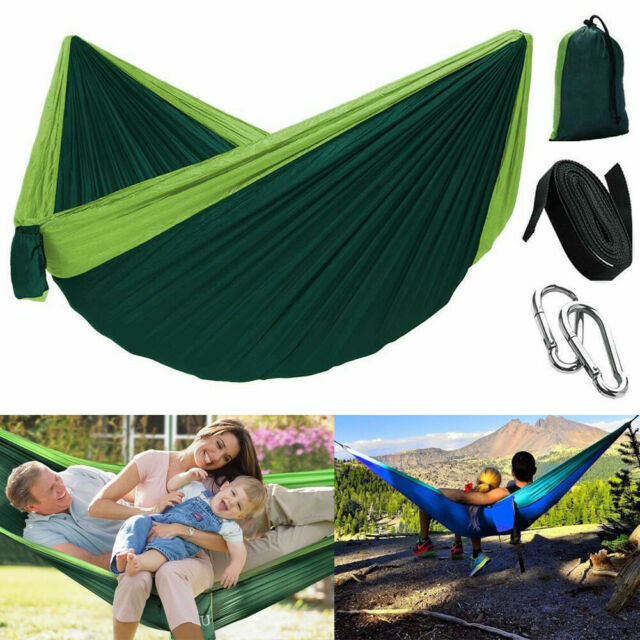 Sleeping Swing Outdoor Bed Camping Mosquito Portable Net Nylon Hammock Hanging