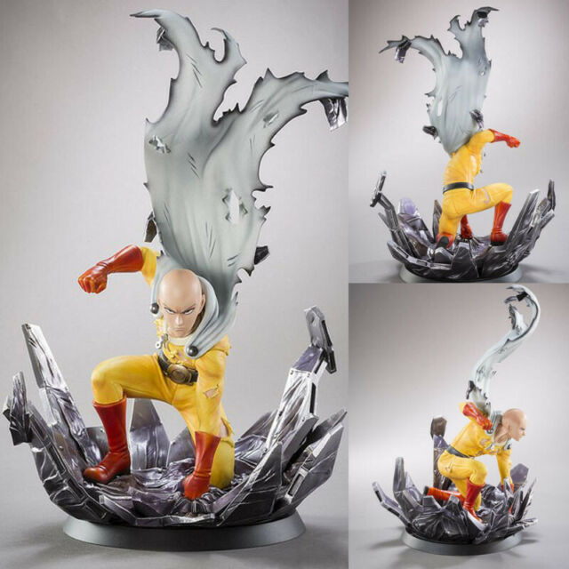 ONE PUNCH-MAN Saitama Figure Hero Come Back From The Moon