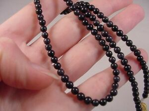 (v441-d) 4 mm Purple Blue sparkle Goldstone Beaded 20 long Necklace JEWELRY