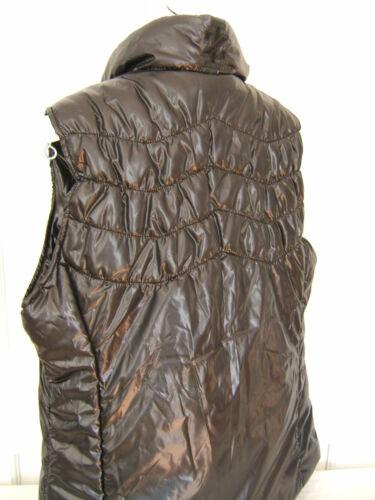 Nwt 78 Puffer Designer M Izod Jacket Vest alsidig Varm Cozy Sort Sleeveless qwqHI5rP