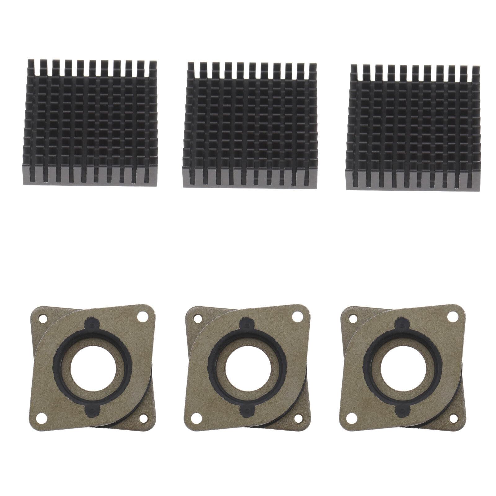 3Pcs 3D Printer Motor Repair Kit Compatible with Nema17 Dashpot and Heatsink