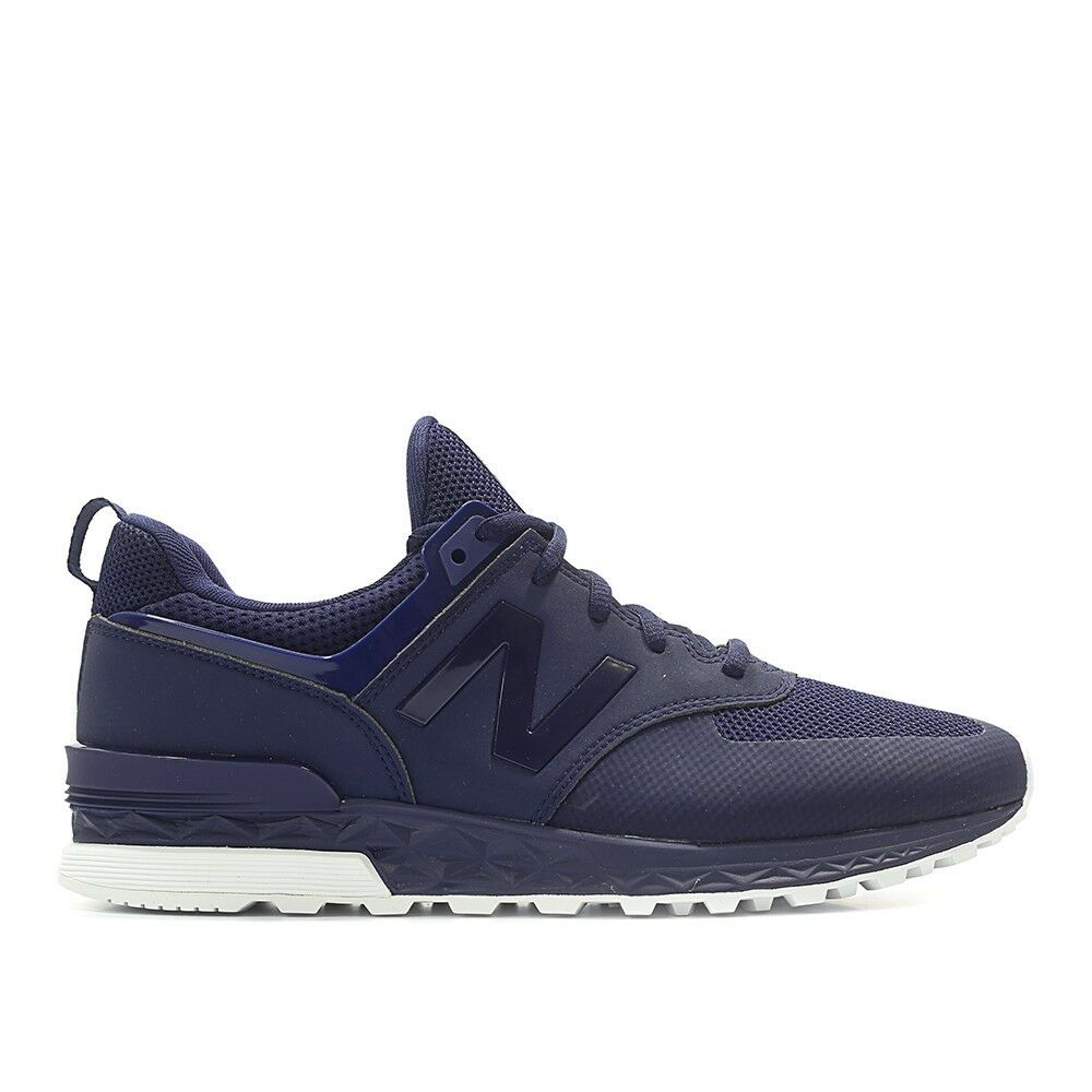New Balance Homme S574SNV Navy/Noir Fashion Sneakers (Taille 8)