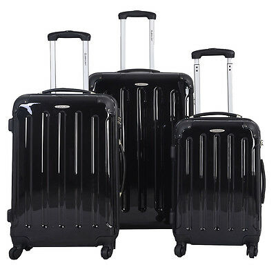 "20""24""28""Set de3pcs maletas ABS L/M/S equipaje con ruedas giradas Varios colores"