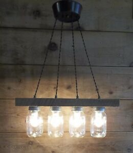 Farm Light Fixture Barn Wood Bar