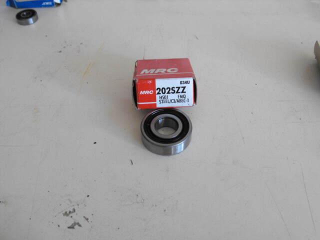 MRC 202SZZ Rubber Sealed Bearing
