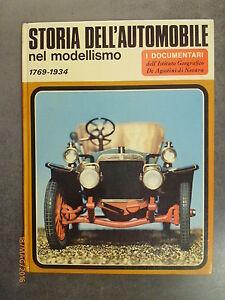 STORIA-DELL-039-AUTOMOBILE-NEL-MODELLISMO-1769-1934-Ed-DeAgostini-1971