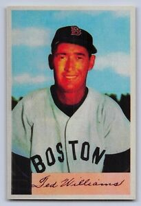 1954-TED-WILLIAMS-Bowman-034-REPRINT-034-Baseball-Card-66-BOSTON-RED-SOX