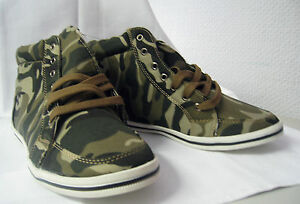 Camouflage-Sneakers-A147-High-Top-Army-Style-NEU-Gr-36-37-38-39-40-TOP-PREIS