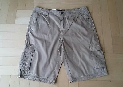 *** K&l Hose Kurze Hose Bermuda Shorts Herren Gr.33 Beige ***