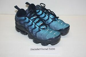 Nike Air Vapormax Plus Obsidian Blue Photo VM Max Tuned Size 8 ... e0eac756b52