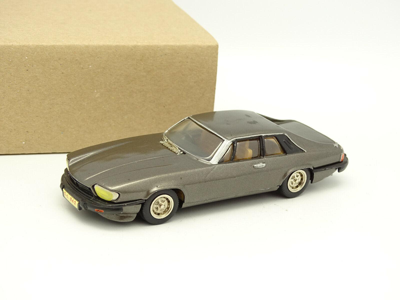 Western models metal kit built 1 43 - jaguar xjs coupe grey