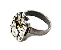 Steampunk Ring - Fashion Accessories - Rings - Women's Jewelry - Gift Box