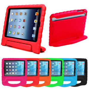 info for a9775 152c0 Details about Kids Childrens Shockproof Foam Handle Stand Case Cover For  iPad 2 3 Air 2 3 4 UK