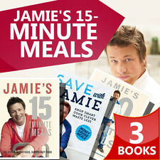 Jamie Oliver Colletion, 3 Books Set ( Jamie's 30-Minute Meals, Save with Jamie )