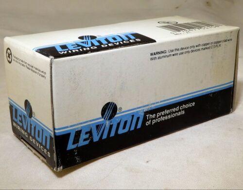 Leviton Ivory Decora ON//OFF Rocker Light Wall Switch 15A 1-Pole 5601-2I