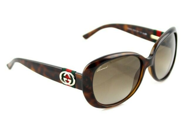 7c33922119f RARE Authentic GUCCI Havana Brown Shaded Womens Sunglasses GG 3644 S DWJHA