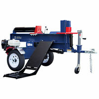 Iron & Oak 30-ton Commercial Horizontal Gas Log Splitter W/ Hydraulic Log Lift