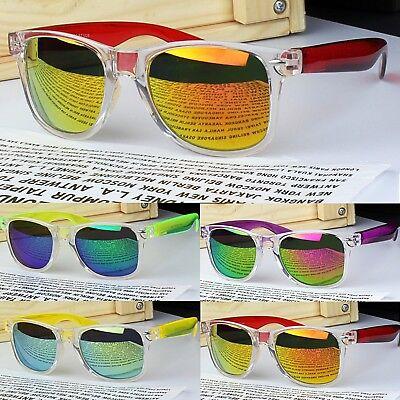 NEU Herren rechteckige Schild Sport Freizeit Sonnenbrille UV400