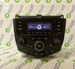 Image Is Loading 2003 Honda Accord Coupe 2d Radio 6 Disc