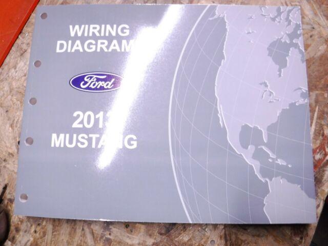 2013 Ford Mustang Original Factory Wiring Diagrams Manual