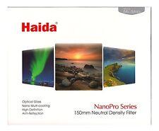 Haida NanoPro 150mm Neutral Density ND64 ND 1.8 Glass Filter 150 6 Stop