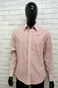 Camicia-Uomo-KAPPA-Taglia-Size-M-Maglia-Shirt-Man-Polo-Cotone-Fantasia-a-Righe