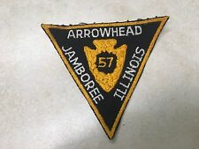 1957 National Jamboree Arrowhead Council Contingent Patch