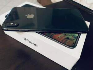 USED Apple iPhone XS 64GB Space Gray - Factory Unlocked, Complete
