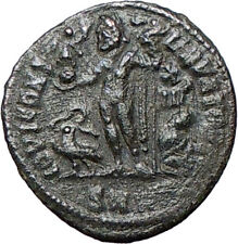 CRISPUS Constantine the Great son 317AD Ancient Roman Coin Nude JUPITER i24695