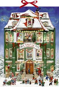 Coppenrath musical Calendario de Adviento Navidad 24 melodías 38 cm X 52 cm Cinta de brillo  </span>
